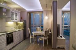 белый в интерьере, классика, скандинавия, кухня